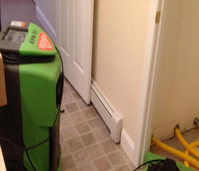 Drying to Prevent Mold Growth