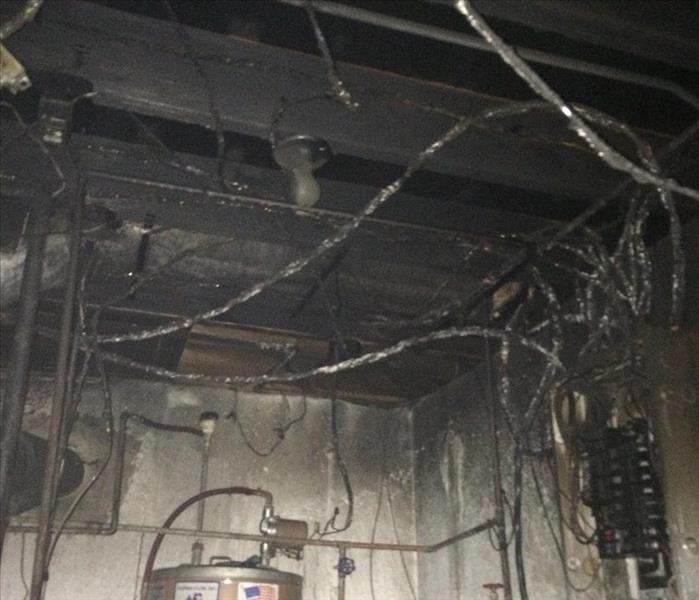 Fire Damage-Boiler Room