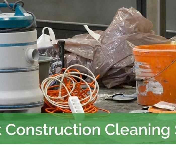 Commercial Did you know we offer Post Construction Clean-Up?